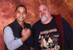 with Jose Pablo Cantillo