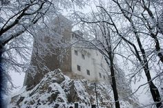 The real Dracula's castle in Rumania
