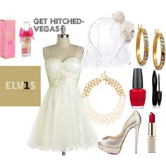 """""""Get Hitched- Vegas"""" by aj-fassett on Polyvore"""