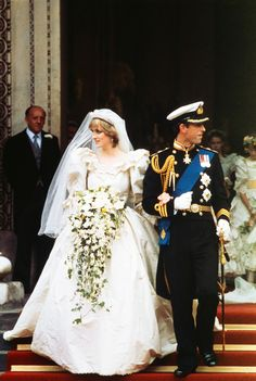 Prince Charles and Lady Diana Spencer - When: July 29, 1981 Where: St. Paul's Cathedral The Bride: Lady Diana Spencer The Groom: Charles, Prince of Wales and heir apparent to the British throne