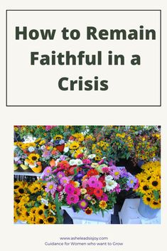 How do you remain faithful in a crisis? When life seems to be falling apart, you might question how you can remain faithful. Christian Living, Christian Faith, Grow In Grace, Identity In Christ, Bible Study Tools, Jesus Calling, Christian Encouragement, God First, Gods Promises
