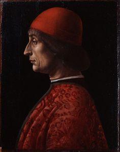 266. Vincenzo Foppa - Ritratto di Giovanni Francesco Brivio - 1495 - Milano, Museo Poldi Pezzoli