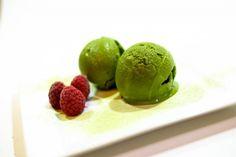 Matcha Tea zmrzlina Matcha, Raw Food Recipes, Ice Cream, Tea, Ethnic Recipes, Desserts, Lifestyle, No Churn Ice Cream, Tailgate Desserts