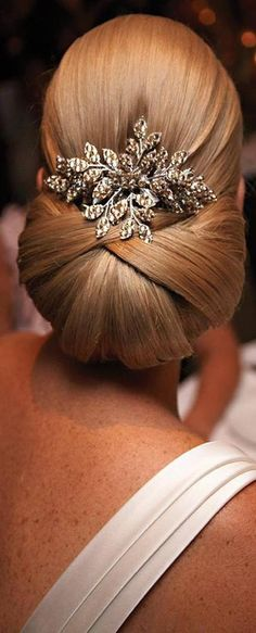 Wedding hair ideas:  Elegance is forever