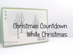 Christmas Countdown | White Christmas from Stampin' Up! - YouTube