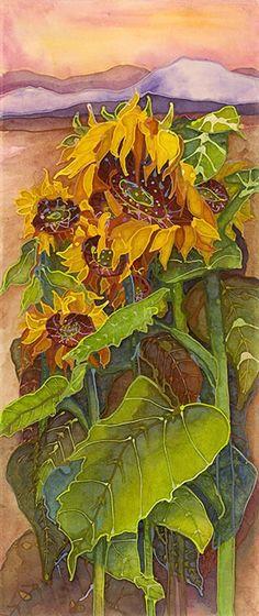 Anne Hanley - Sunflowers in the Field