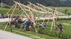 Workshops für Lehm- und Bambusbau in Altmünster Workshop, Summer School, Alter, Sustainability, Fair Grounds, Construction, Earth, Education, Building