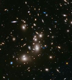 Hubble Images This long-exposure image taken by NASA's Hubble Space Telescope includes some of the earliest galaxies ever detected. - Four galaxies discovered by the Hubble telescope date to the early universe, but are vastly more bright than expected. Space Photos, Space Images, Photos Du, Nasa Space Pictures, Hubble Pictures, Deep Photos, Astronomy Pictures, Cosmos, Carina Nebula