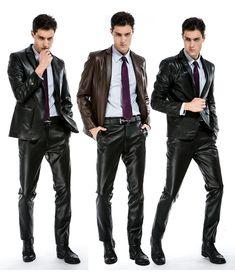 Latex anzug männer