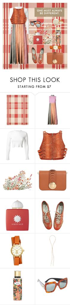 """B unique"" by secretstylistrome ❤ liked on Polyvore featuring Safavieh, Christopher Kane, Rosetta Getty, Balmain, Vikki Chu, Salvatore Ferragamo, AMOUAGE, Tory Burch, Cornelia Webb and Victoria's Secret"