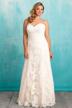 67f2ed858f Allure W370 Designer Wedding Dresses
