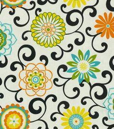 Home Decor Print Fabric-Waverly Pom Pom Play Confetti