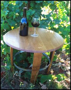 Repurposing wine barrel wood made from especially high quality French Oak.  Winewood provides a large array of unique items.