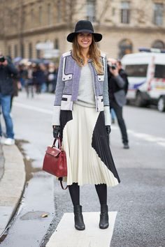 See the Street Style from Paris Fashion Week Spring Street Style Chic, Looks Street Style, Autumn Street Style, Looks Style, Fashion Week, Paris Fashion, Winter Fashion, Womens Fashion, Fashion Trends