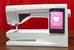 Introducing the Husqvarna Viking Designer Ruby Royale sewing machine