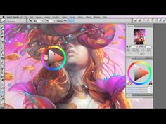 Corel Painter Tutorials - YouTube