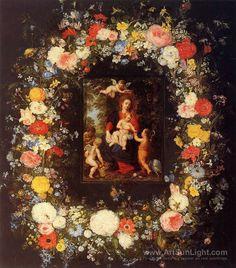 The Holy Family - Jan Brueghel the Elder