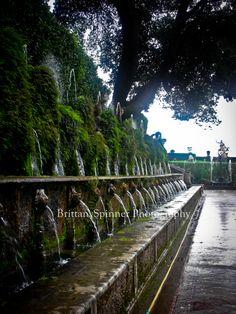 Villa D'este. Tivoli, Italy