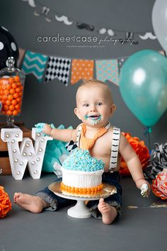 Idaho Falls, ID Baby Child and Birthday Cake Smash Photographer ~ Caralee Case Photography