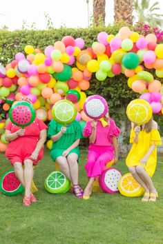 A Feelin' Fruity Garden Party! | studiodiy.com