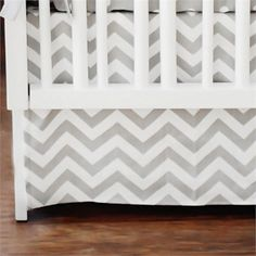 @rosenberryrooms is offering $20 OFF your purchase! Share the news and save!  Zig Zag Crib Skirt #rosenberryrooms