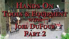 Joel DuFour of Earth Tools joins us for a field day featuring his favorite tools, walk behind tractors and equipment for market gardeners and small farmers. Farm Tools And Equipment, Walk Behind Tractor, Market Garden, Field Day, Organic Farming, Garden Tools, Neon Signs, Marketing, Hands