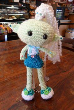 Ravelry: Alien Chick pattern by PJ Crafts in Austin