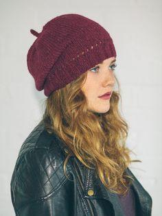 Rowan Lima Eyelet Hat - Sarah Hatton - Black Sheep Wools #knittingpattern #rowanyarn