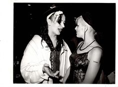 Boy George and Nina Hagen