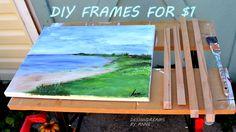 DesignDreams by Anne: $1 DIY Chunky Wood Frames
