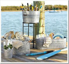 Gaga for Galvanized - check out this site for lots of cute ideas!