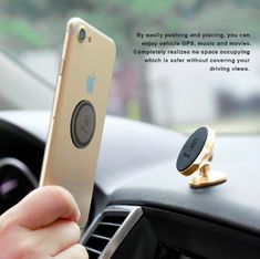 Mobile Phone Holders & Stands Cheap Sale Car Phone Holder Magnetic Air Vent Mount Mobile Smartphone Stand Magnet Support Cell Cellphone Telephone Desk In Car Holder Gps Exquisite Craftsmanship;