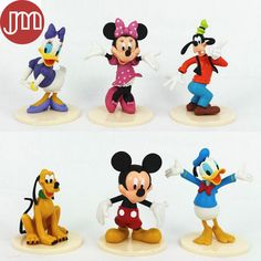 Find More Action & Toy Figures Information about New 6pcs Mickey Mouse Clubhouse Minnie Goofy Figures Playsets Toys Cake Topper Mini Action Figures with Stand Anime Brinquedos,High Quality figure sexy,China mouse laptop Suppliers, Cheap mouse tool from M&J Toys Global Trading Co.,Ltd on Aliexpress.com