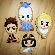 frida kahlo galleta - Buscar con Google