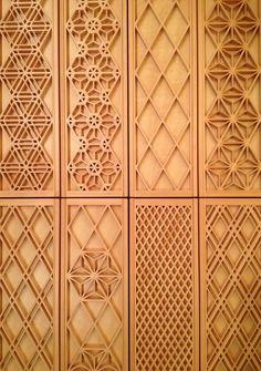 wooden frame pattern Screen Design, Door Design, Wall Design, Japan Design, Thai Pattern, Wooden Pattern, 3d Cnc, Japanese Woodworking, 3d Laser