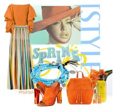 """""""Orange is the new black for Spring.... :-)"""" by marastyle ❤ liked on Polyvore featuring Missoni, M.Cohen, Rosie Assoulin, Calvin Klein Collection, Jérôme Dreyfuss and Tory Burch"""