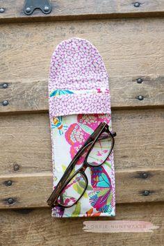 Sew a Stylish Sunglass Case with HeatnBond Fusible Fleece - Therm O Web