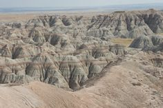 The Badlands - can you guess how it gets its name? #MomentstoConserve