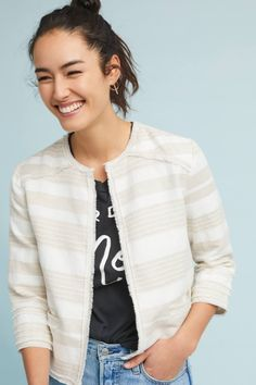 Shop the Joslyn Striped Jacket and more Anthropologie at Anthropologie today. Read customer reviews, discover product details and more.