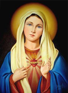 Sagrado Corazón de Maria Por Dora Alis