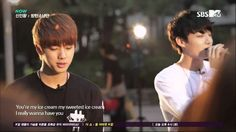 Their english may not be on point, but they can sing! Bangtan - You're My (Jin, V, Jimin and Jungkook)