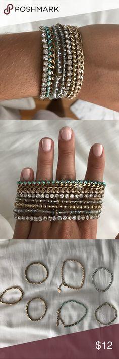 Aldo bracelets 7 separate Aldo bracelets Aldo Jewelry Bracelets