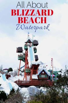 Blizzard Beach Waterpark: Everything you can do while you are at a Disney Waterpark! #Disney #Waterpark #DisneyInsiderTips