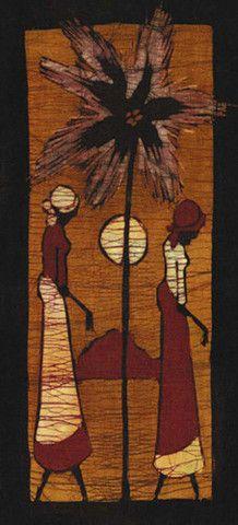 Batik VIII Art Print by Setsinala