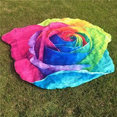 New Arrival Irregular Rose Flower Hippie Tapestry Beach Picnic Throw ioga Mat Towel Blanket Meditation Mandala Towel Tapestry