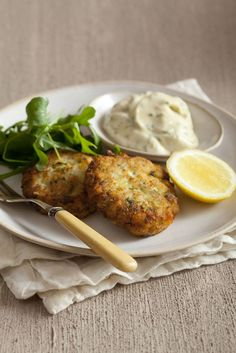 Lemon-Parsley Fish Cakes | Recipe | Fish, Cakes and Be Ready