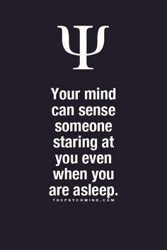 Cool! =D *While you're asleep: I can sense someone watching me, but I don't wanna scare them by opening my eyes. XDDDDD