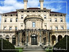 One of the vanderbilt mansions/marble house in rhode island