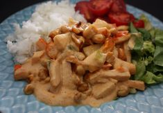 Kassler Bombay Fika, Chutney, Lchf, Deserts, Food And Drink, Chicken, Cooking, Juice, Kitchen