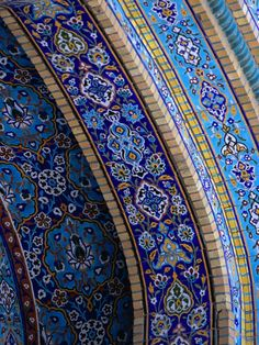 Mosaic detail of Iranian Mosque